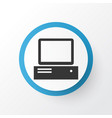 computer icon symbol premium quality isolated vector image