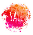 Color Sale Poster vector image