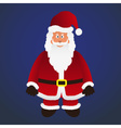 colorful cartoon Santa Claus with red outfit eps10 vector image