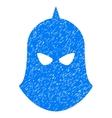 Knight Helmet Grainy Texture Icon vector image