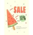 Super Sale modern banner vector image