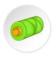 Spool icon flat style vector image vector image