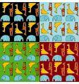 animal wallpaper vector image vector image