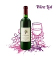 Wine Sketch Concept vector image