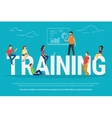 Training concept vector image