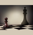 pawn aspiration vector image