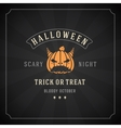 Happy Halloween Background and Pumpkin vector image vector image