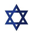Star icon Israel culture design graphic vector image