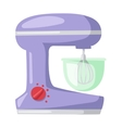 Apparatus for cooking soup kitchen blender vector image