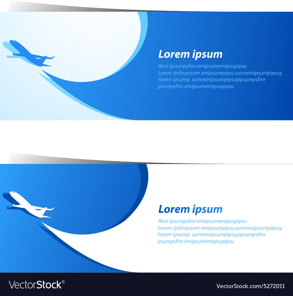 Airplane background4 vector