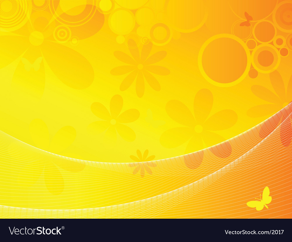 Summer background vector