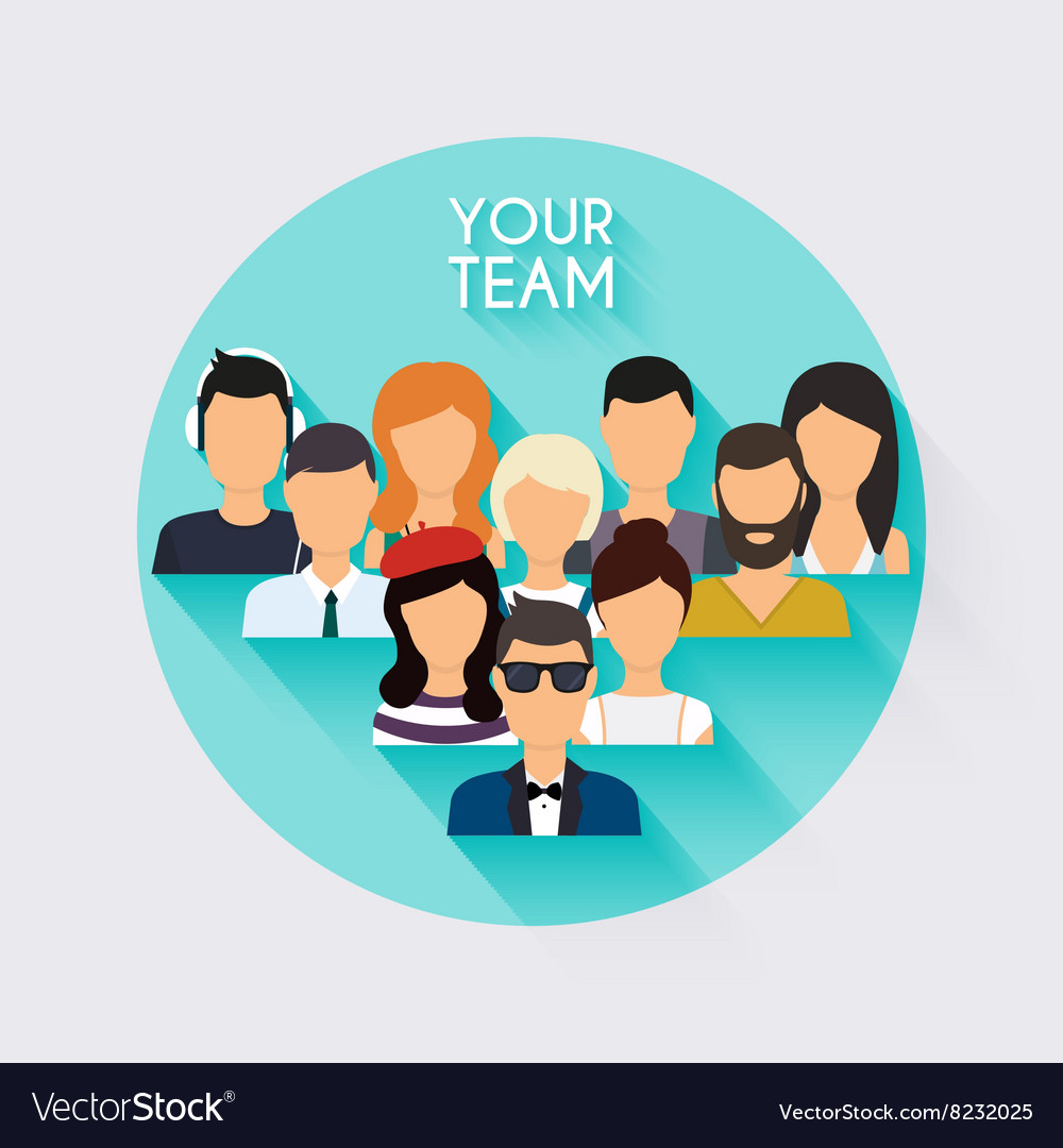 Business team business people and business vector