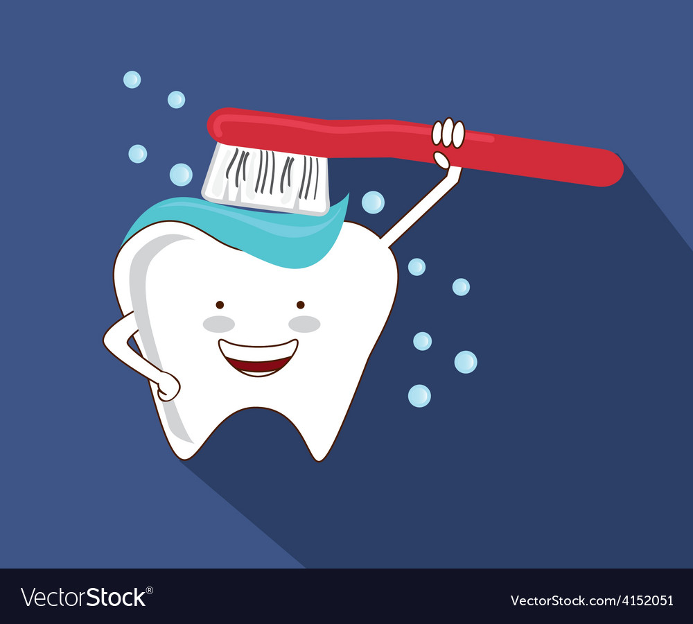 Dental care vector