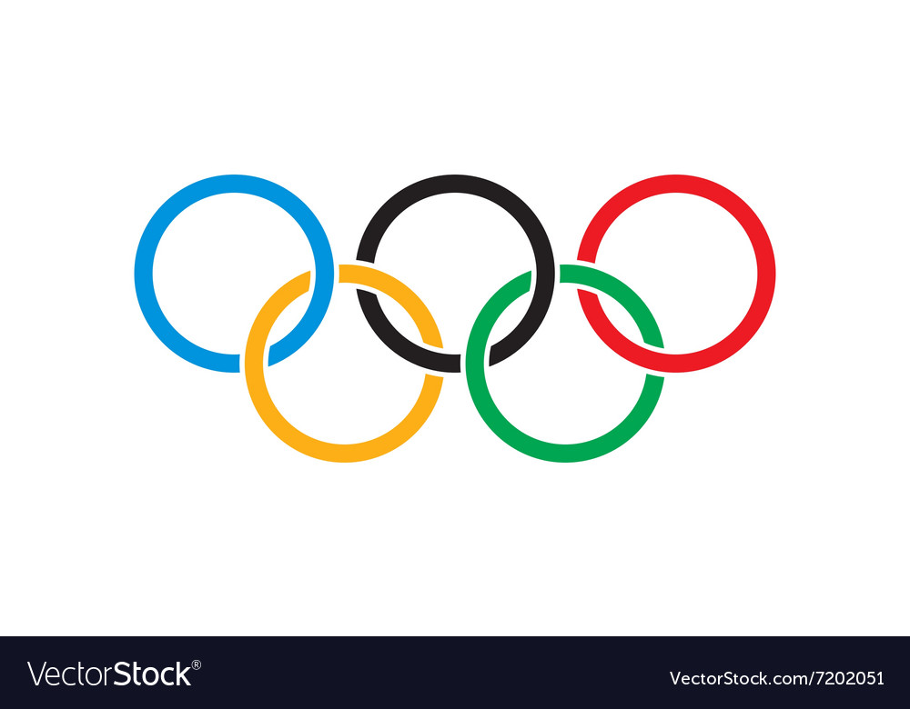 Kremenchug ukraine 05 january 2016 olympics vector