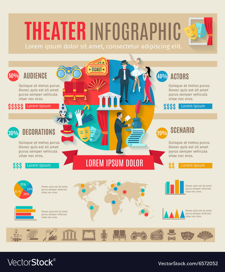 Ter infographics set vector