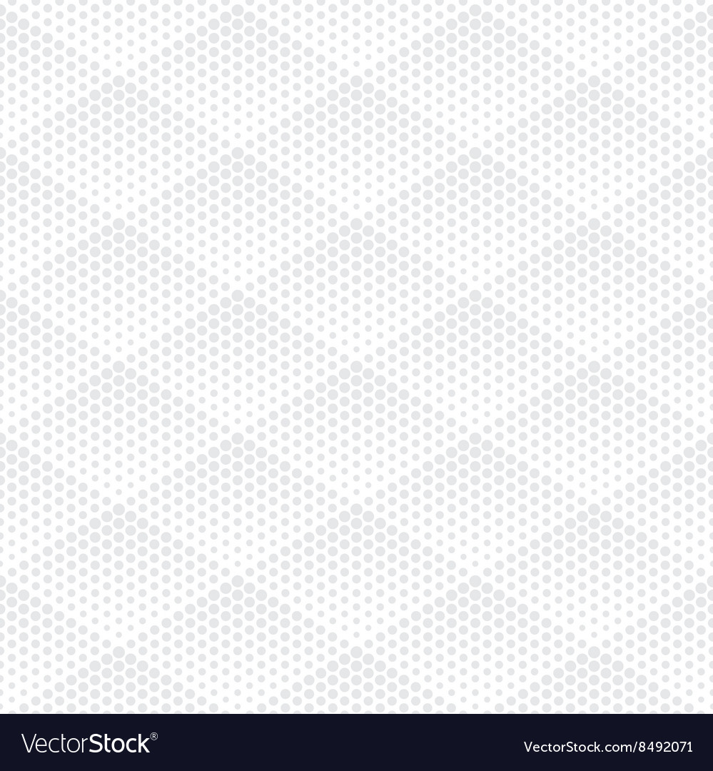 Halftone seamless pattern vector
