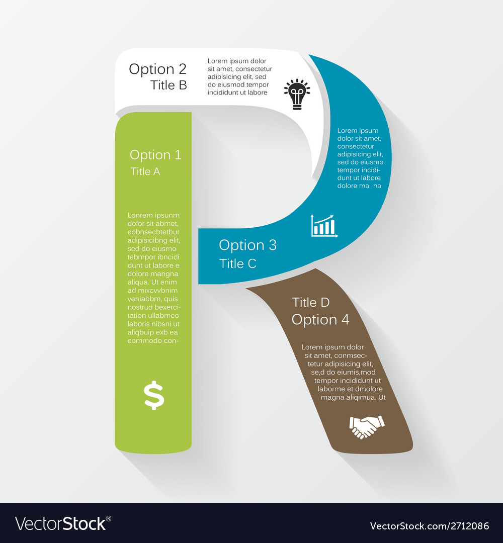 Business infographic diagram presentation vector
