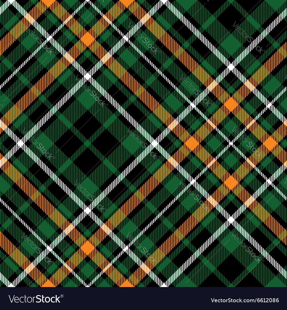 Celtic fc diagonal green tartan seamless pattern vector