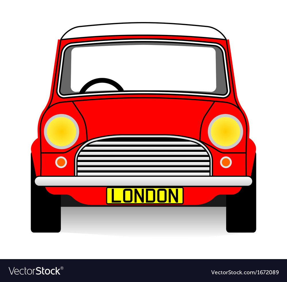 Red mini vector