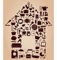 house graphics vector image
