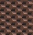 Old school seamless background diamond vector image