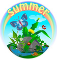 summer insect 2 vector image