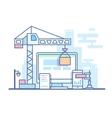 Web site development vector image