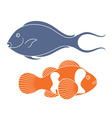 Reef Fish vector image