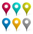 Mapping Pins vector image