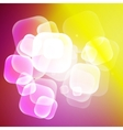 Abstract colorful bubble background vector image