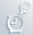 alarm clock background Eps10 vector image
