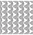 fish abstract pattern background vector image