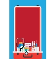 healthcare and medical equipment vector image