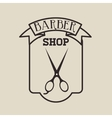 barber shop design vector image