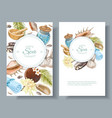 Spa treatment banners vector image