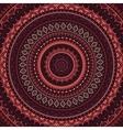 Mandala Indian decorative pattern vector image