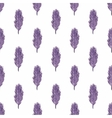 Pattern of ethnic feathers Ethnic seamless vector image