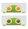 Hypno Frog vector image