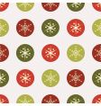Christmas vintage paper vector image