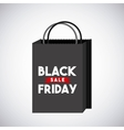 black friday sale commerce vector image