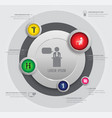 circle business concepts vector image