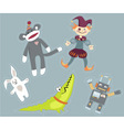 Toys vector image