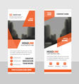 Business Roll Up Banner flat design templates set vector image