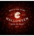 Happy Halloween Background and Pumpkin vector image vector image