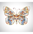 Beautiful abstract butterfly vector image