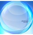 Blue transparent lens background vector image vector image