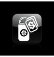 deodorant buy icon vector image vector image