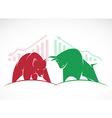 Bears and bulls vector image