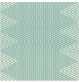 Zig zag pattern with triangles vector image