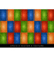texture grain four color vector image vector image